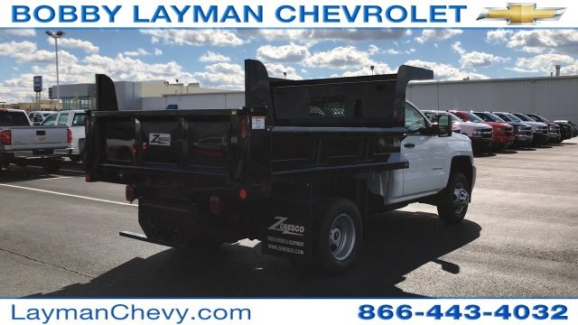 2017 Silverado 3500 Regular Cab DRW, Rugby Dump Body #HZ260514 - photo 8