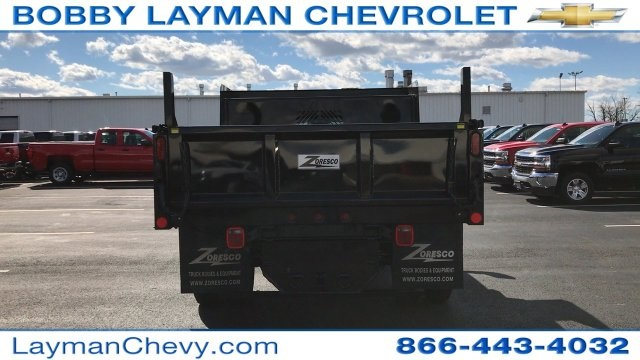 2017 Silverado 3500 Regular Cab DRW, Rugby Dump Body #HZ260514 - photo 9