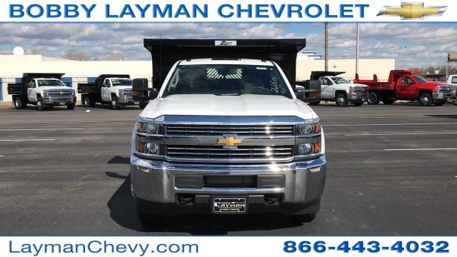 2017 Silverado 3500 Regular Cab DRW, Rugby Dump Body #HZ260514 - photo 4