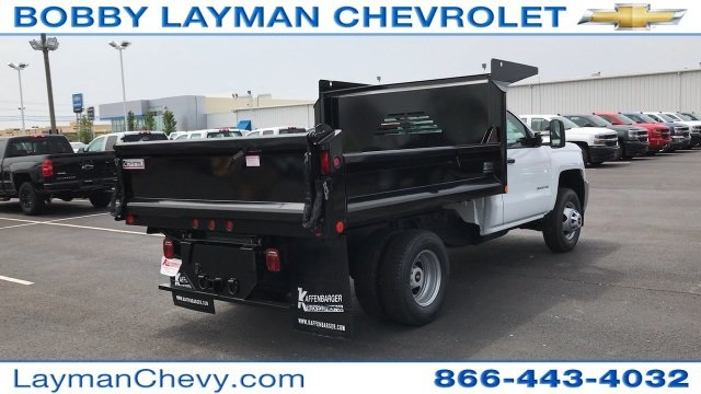 2017 Silverado 3500 Regular Cab DRW 4x4, Crysteel Dump Body #HZ292456 - photo 7