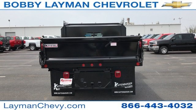 2017 Silverado 3500 Regular Cab DRW 4x4, Crysteel Dump Body #HZ292456 - photo 12