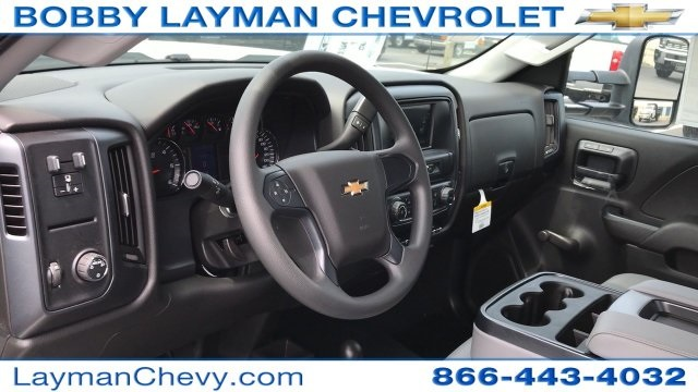2017 Silverado 3500 Regular Cab DRW 4x4, Crysteel Dump Body #HZ292456 - photo 19