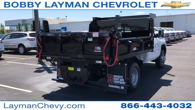 2017 Silverado 3500 Regular Cab DRW, Reading Dump Body #HZ312712 - photo 7