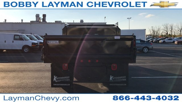 2017 Silverado 3500 Regular Cab DRW 4x4, Crysteel Dump Body #HZ339248 - photo 6