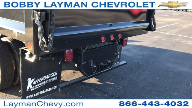 2017 Silverado 3500 Regular Cab DRW 4x4, Crysteel Dump Body #HZ339248 - photo 8