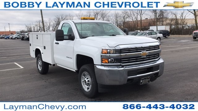 2017 Silverado 2500 Regular Cab, Knapheide Standard Service Body #HZ394454 - photo 35