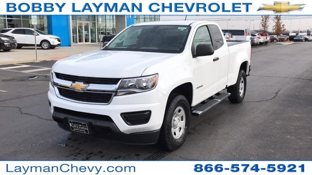 2018 Colorado Extended Cab, Pickup #J1168593 - photo 3