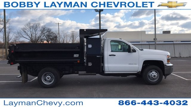 2018 Silverado 3500 Regular Cab DRW 4x4, Dump Body #JF100210 - photo 1