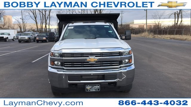 2018 Silverado 3500 Regular Cab DRW 4x4, Dump Body #JF100210 - photo 7