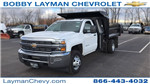 2018 Silverado 3500 Regular Cab DRW 4x4, Dump Body #JF100210 - photo 5
