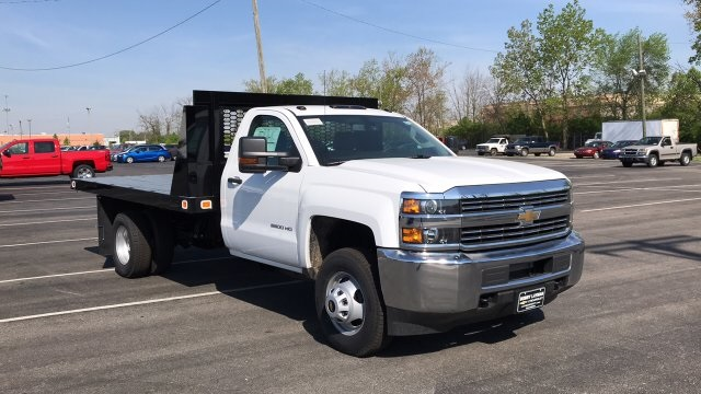 2018 Silverado 3500 Regular Cab DRW, Platform Body #JF109342 - photo 6