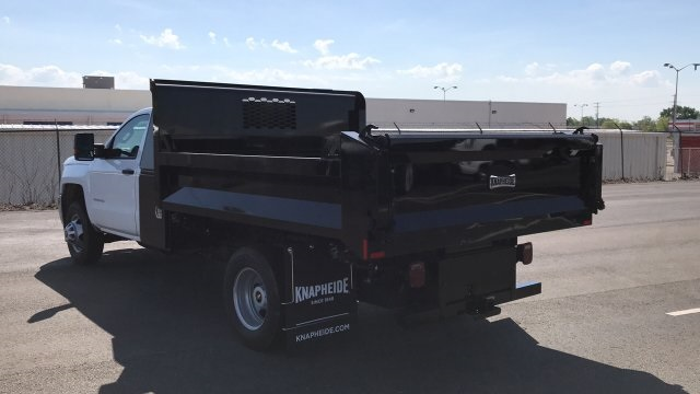2018 Silverado 3500 Regular Cab DRW, Dump Body #JF110071 - photo 2