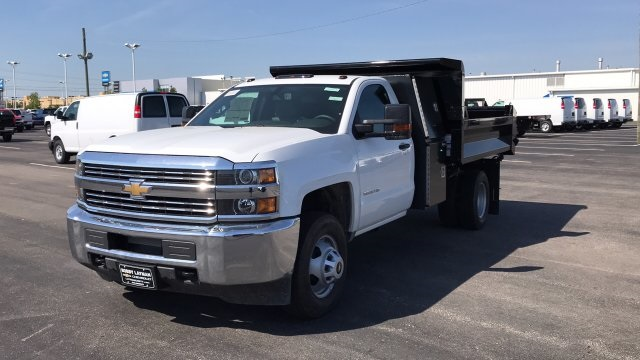 2018 Silverado 3500 Regular Cab DRW, Dump Body #JF110071 - photo 3
