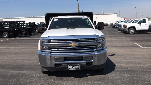 2018 Silverado 3500 Regular Cab DRW, Dump Body #JF110071 - photo 4