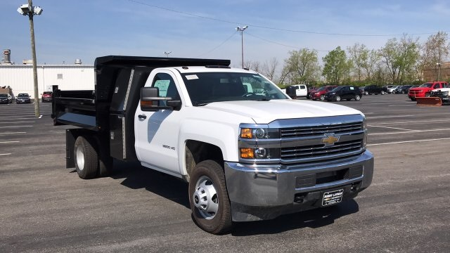 2018 Silverado 3500 Regular Cab DRW, Dump Body #JF110071 - photo 5