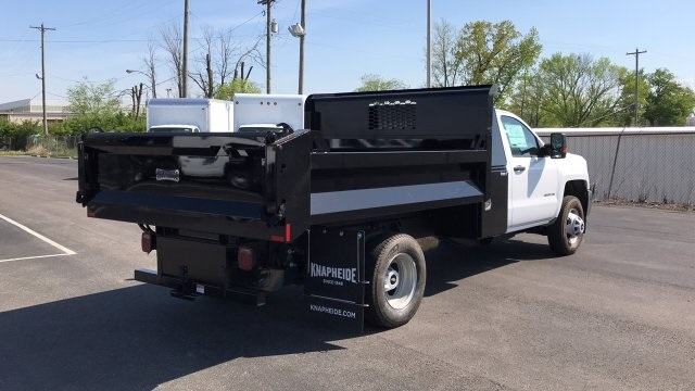 2018 Silverado 3500 Regular Cab DRW, Dump Body #JF110071 - photo 6