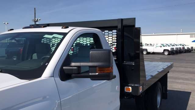 2018 Silverado 3500 Regular Cab DRW, Platform Body #JF111380 - photo 28