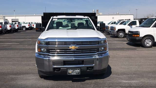 2018 Silverado 3500 Regular Cab DRW, Knapheide Value-Master X Platform Body #JF111380 - photo 4