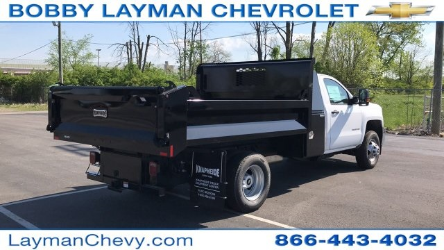 2018 Silverado 3500 Regular Cab DRW, Dump Body #JF112169 - photo 6