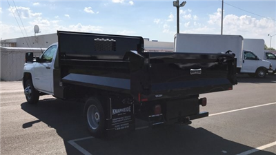 2018 Silverado 3500 Regular Cab DRW, Dump Body #JF112169 - photo 2