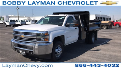 2018 Silverado 3500 Regular Cab DRW, Dump Body #JF112169 - photo 3