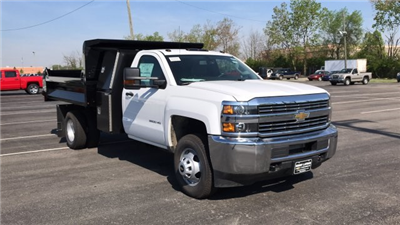 2018 Silverado 3500 Regular Cab DRW, Dump Body #JF112169 - photo 5