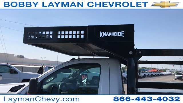 2018 Silverado 3500 Regular Cab DRW 4x2,  Knapheide Contractor Body #JF112250 - photo 15