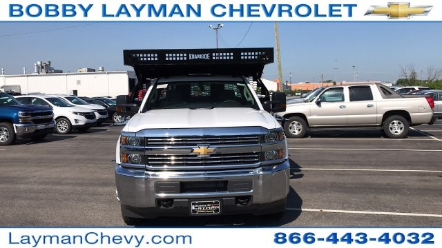 2018 Silverado 3500 Regular Cab DRW 4x2,  Knapheide Contractor Body #JF112250 - photo 4
