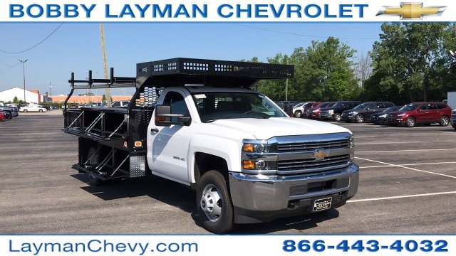 2018 Silverado 3500 Regular Cab DRW 4x2,  Knapheide Contractor Body #JF112250 - photo 5