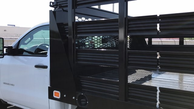 2018 Silverado 3500 Regular Cab DRW, Stake Bed #JF112559 - photo 12