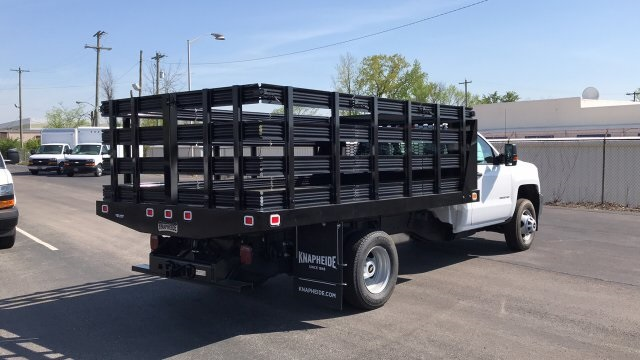 2018 Silverado 3500 Regular Cab DRW, Stake Bed #JF112559 - photo 6