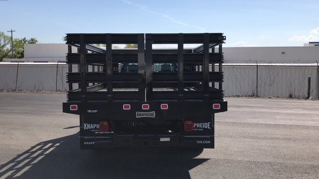 2018 Silverado 3500 Regular Cab DRW, Stake Bed #JF112559 - photo 7