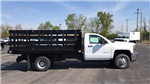 2018 Silverado 3500 Regular Cab DRW, Stake Bed #JF112559 - photo 1