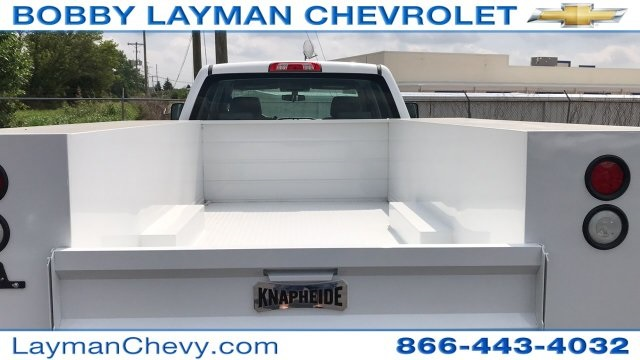 2018 Silverado 3500 Crew Cab DRW 4x2,  Service Body #JF123697 - photo 9