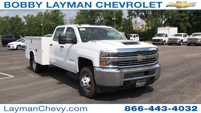 2018 Silverado 3500 Crew Cab DRW 4x2,  Service Body #JF123697 - photo 5