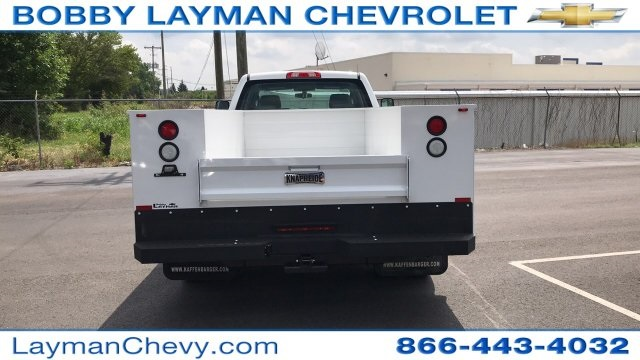 2018 Silverado 3500 Crew Cab DRW 4x2,  Service Body #JF123697 - photo 7