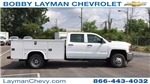 2018 Silverado 3500 Crew Cab DRW 4x2,  Service Body #JF123697 - photo 1