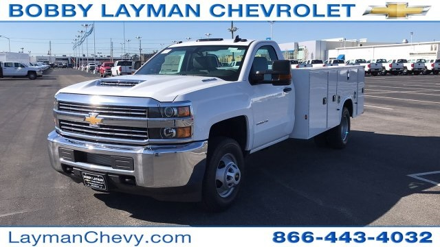 2018 Silverado 3500 Regular Cab DRW 4x4,  Knapheide Service Body #JF185893 - photo 3