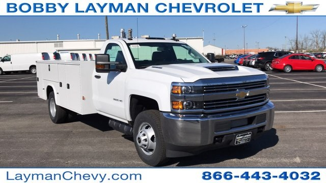 2018 Silverado 3500 Regular Cab DRW 4x4,  Knapheide Service Body #JF185893 - photo 5