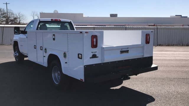 2018 Silverado 3500 Regular Cab DRW 4x4,  Knapheide Service Body #JF185893 - photo 2