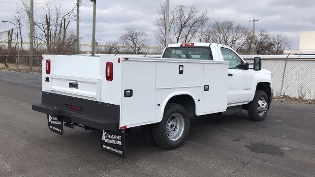 2018 Silverado 3500 Regular Cab DRW 4x4,  Knapheide Standard Service Body #JF196370 - photo 6