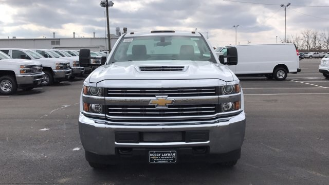 2018 Silverado 3500 Regular Cab DRW 4x4, Knapheide Standard Service Body #JF196370 - photo 4