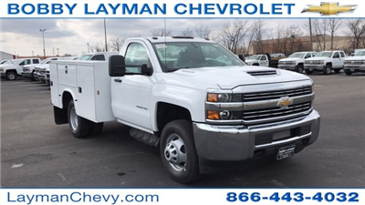 2018 Silverado 3500 Regular Cab DRW 4x4, Knapheide Standard Service Body #JF196370 - photo 5