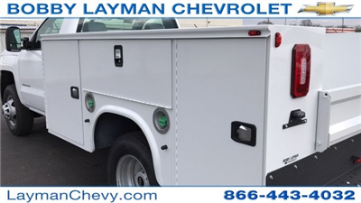 2018 Silverado 3500 Regular Cab DRW 4x4, Knapheide Standard Service Body #JF196370 - photo 10