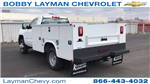 2018 Silverado 3500 Regular Cab DRW 4x4, Knapheide Standard Service Body #JF196370 - photo 2