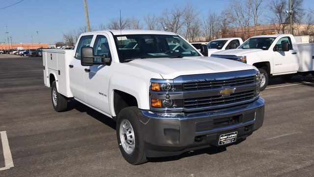 2018 Silverado 2500 Crew Cab, Knapheide Service Body #JF209593 - photo 5