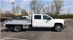 2018 Silverado 3500 Crew Cab DRW 4x4, Platform Body #JF212272 - photo 1