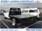 2018 Silverado 3500 Crew Cab DRW 4x4, Platform Body #JF228899 - photo 1