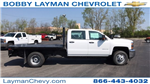 2018 Silverado 3500 Crew Cab DRW 4x4, Platform Body #JF230862 - photo 1