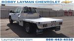 2018 Silverado 3500 Crew Cab DRW 4x4, Platform Body #JF243621 - photo 1